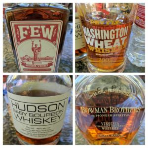 July 2017 –  Non-Kentucky Bourbon (The plus 1 event)