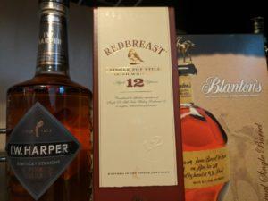 I.W. Harper Redbreast 12 Irish Whiskey Blanton's Kentucky Bourbon