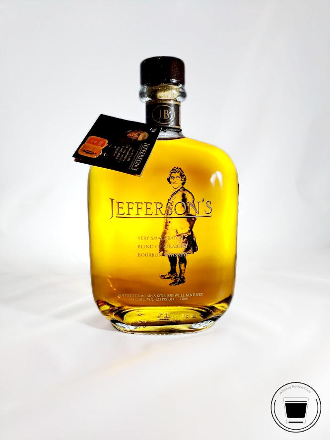 jefferson's very small batch bourbon whisskey