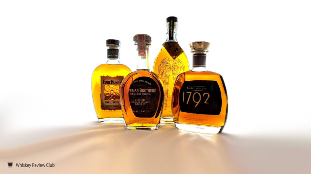 1792 bourbon four roses small batch angel's envy port finished bowman brothers pioneer style bourbon